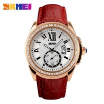 SKMEI Jam Tangan Analog - 1147CL - Red/Golden