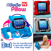Gogo Pillow 3 In 1 Bantal Leher Multifungsi