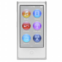 Apple iPod Nano 16GB 7th Generation - Silver