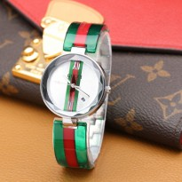 Promo! GUCCI MIKA TANGGAL GREEN RED SILVER