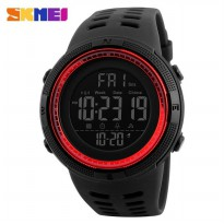 SKMEI Jam Tangan Analog - DG1251 - Black/Red