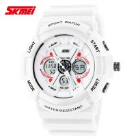SKMEI Jam Tangan Analog Digital - AD0966 - White