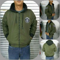 Bomber Hoodie Parker Army