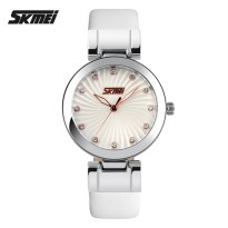 SKMEI Jam Tangan Analog - 9086CL - White