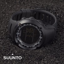 Promo! JAM TANGAN PRIA SUUNTO ANTI AIR BLACK