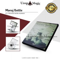 Manoj Bottle (Alat sulap, Sulap Mistik, Mainan)