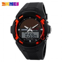 SKMEI Jam Tangan Solar Digital Analog - AD1056E - Red