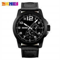 SKMEI Jam Tangan Analog - 9111CL - Black
