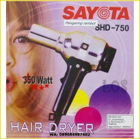 Sayota hair dryer SHD-750 (SKU:00112.00058)