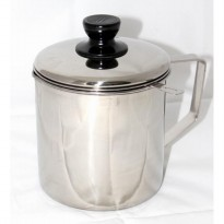 Akebonno Oil Pot Stainless Steel 12cm (SKU:00175.00163)