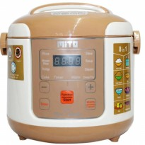 MITO Digital Rice Cooker 8 in 1 - R1 - Gold