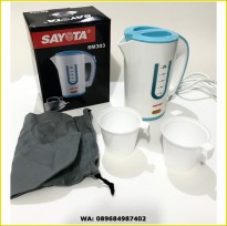 Sayota Electric Kettle Travel With Bag (SM-303) (SKU:00112.00070)