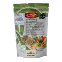 Linwood's Milled Organic Flaxseed Sunflower Pumpkin Seeds