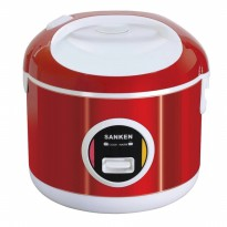 SANKEN Rice Cooker Stainless 6 in 1 - SJ-3000