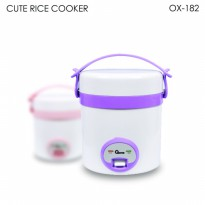 OXONE Cute Rice Cooker 0.3 Liter OX-182 - Ungu / Pink