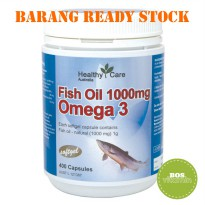 Healthy Care Fish Oil 1000mg 400 kapsul