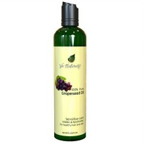 [poledit] Vie Naturelle Grapeseed Oil for Hair, Cooking, & Skin - 100 Pure Hexane Free - /13484025