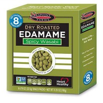 [poledit] Seapoint Farms DRy Roasted Edamame, Spicy Wasabi, 6.35 Ounce (Pack of 12) (T2)/13483959