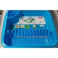 Rak piring + Alas Lion Star/Rak piring Misty Lion Star (Dish Rack)