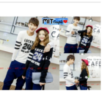 Supplier baju couple sweater kemeja import wanita murah 24 LP