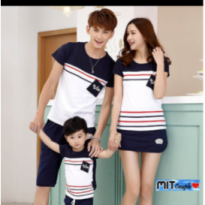 Supplier baju couple sweater kemeja import wanita murah FAMILY NSUN