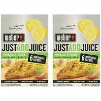 [poledit] Weber Just Add Juice Garlic and Herb Marinade Mix (T1)/13482902