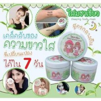 SLEEPING BODY MASK DIAMOND GREEN TEA / ORIGINAL