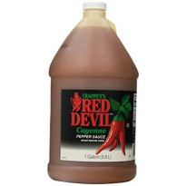 [poledit] Trappey`s Red Devil Cayenne Pepper Sauce - 1 Gallon (T2)/13482786
