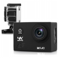 Action Camera Waterproof 4K WiFi - Black