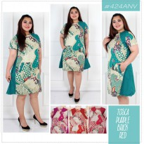 DRESS BATIK 424 ANV SUPER JUMBO