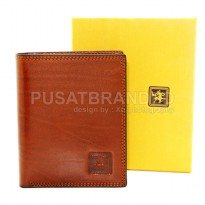 DOMPET PRIA KULIT ASLI IMPORT | DAVID JONES 18-05 COKLAT | 1124