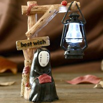 Lampu Meja Creative Design Model Best Wish - Brown