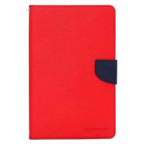 Mercury Goospery Fancy Diary Case Galaxy Tab S2 (8.0inch) T715 - Merah