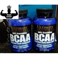 BCAA ULTIMATE NUTRITION 120 Capsules