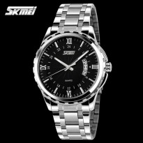 SKMEI Escape 9069 Hitam Putih Jam Tangan Original Import Tahan Air