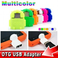 OTG Robot For Android/Tab/PC/Laptop | OTG + Micro SD Card Reader For Android | OTG USB Adapter
