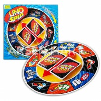 Mainan UNO SPIN - Kartu Uno Spin - Playing Card Game