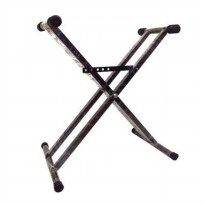 KJF Keyboard Stand Double - Hitam