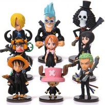 Action Figure One Piece 9 PCS - Model 65