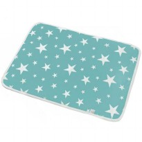 Matras Bayi Waterproof - Blue