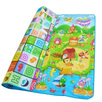 Matras Bermain Anak 2 x 1.8 Meter - Multi-Color