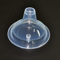 Replacement Wide Duck Mouth Nipple - LK-3000 / Karet Dot - Transparent