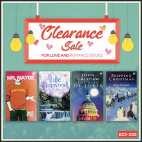 Clearance Book - Buku Novel (223-226)