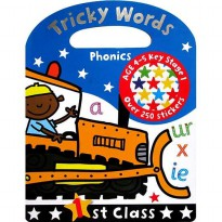 Tricky Words Phonics 1st Class with over 250 stickers (Age 4-5y)
