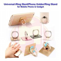 iRing Stent Universal for Mobile Phone - Tab - iPad|Phone Holder|Ring Stand Phone