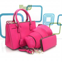 DJ Fashion The Elegant Woman Bag - Rose Pink