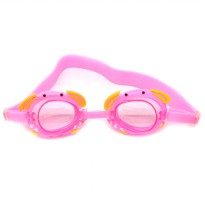 Kacamata Renang Frame Cute Cartoon - Pink