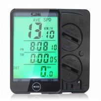 Speedometer Sepeda Touch LCD - SD-576A - Black