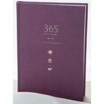 Buku Diary Hardcover - Purple