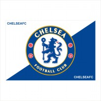 premier league flag cetak bendera sepak bola apa saja 150x100cm cloth banner